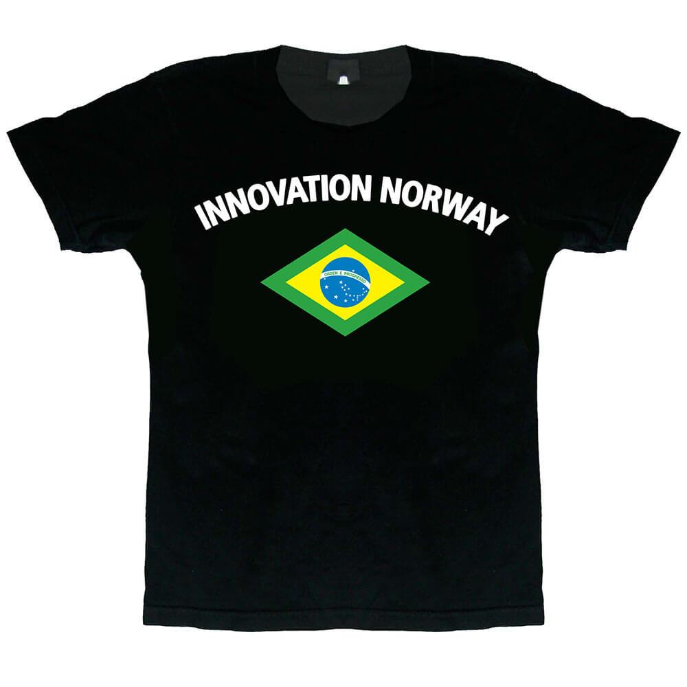 T-SHIRT DESIGN - INNOVATION NORWAY - BRAZIL