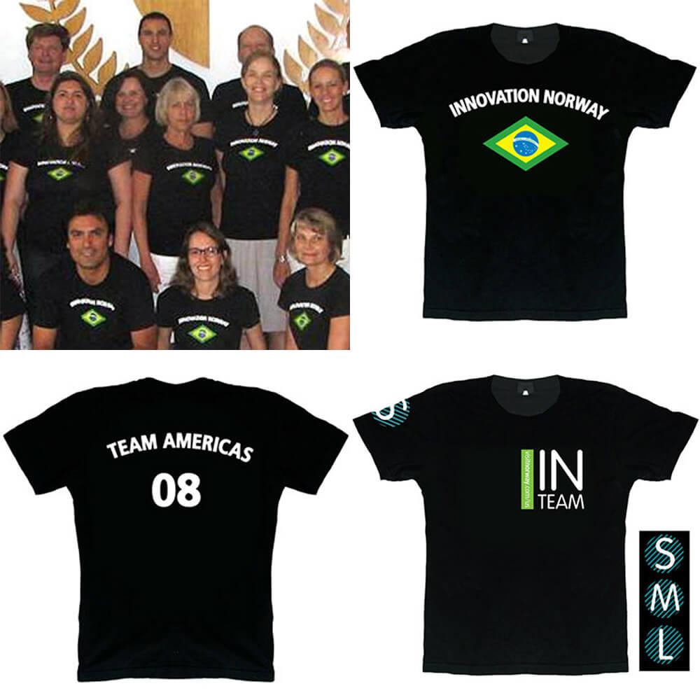 T-SHIRT DESIGN – INNOVATION NORWAY, BRAZIL