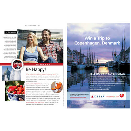 ADVERTORIAL SECTION – VISIT DENMARK AND DELTA AIRLINES