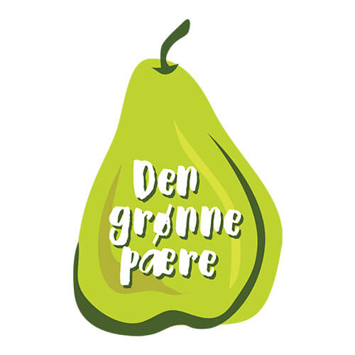 DEN GRØNNE PÆRE – LOGO AND WEB DESIGN