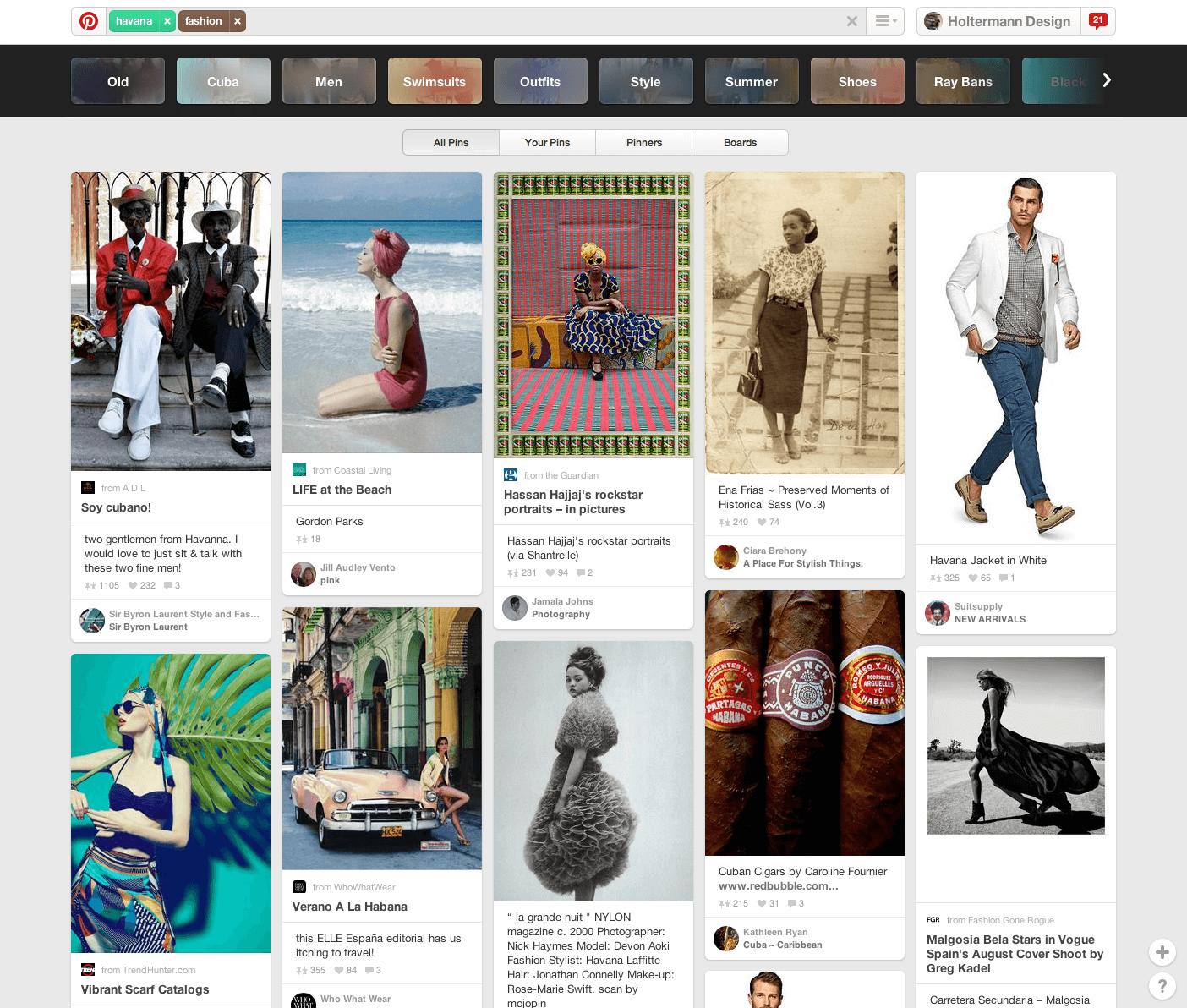 Havana Fashion on Pinterest