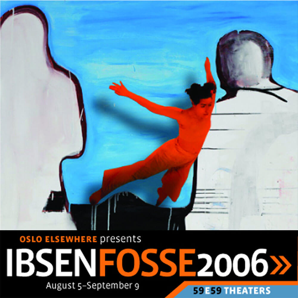 PAMPHLET – IBSEN+FOSSE – OSLO ELSEWHERE THEATER PROMOTION