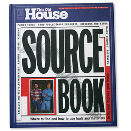 THIS OLD HOUSE SOURCE BOOK – BOOK DESIGN